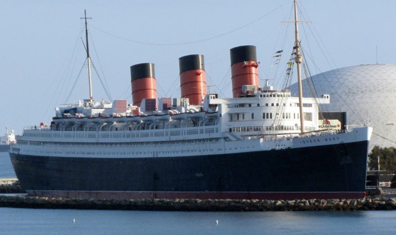 RMS Queen Mary today