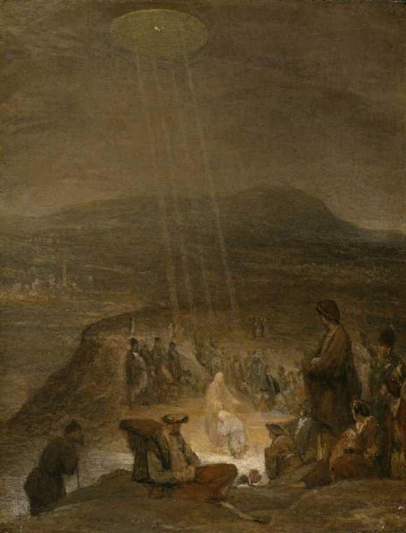 The Baptism of Christ by Aert De Gelder