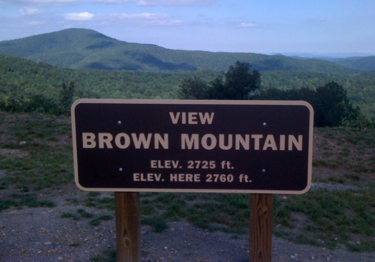 Brown Mountain