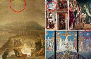 UFO in paintings