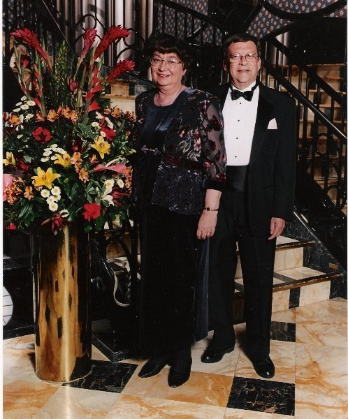 Gerard Sybers and his wife Elly.