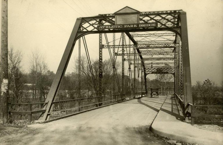 the Ridge Avenue Bridge in Dayton