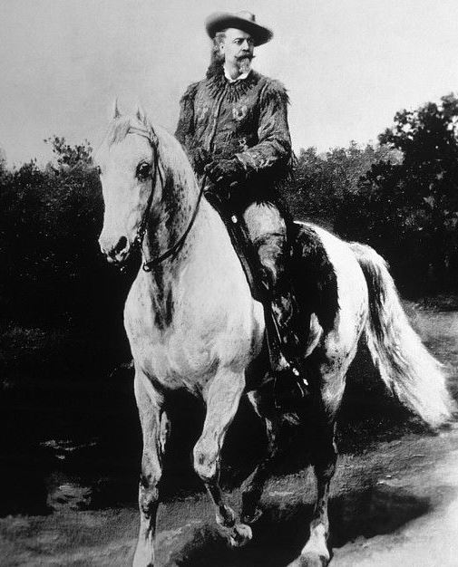 William F. Cody (aka Buffalo Bill Cody) (1846-1917),