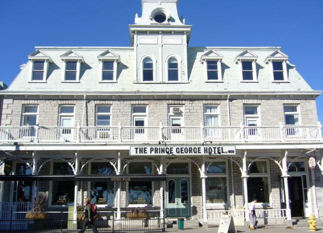 Kingston's Prince George Hotel