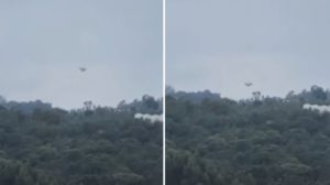 UFO lands in rural area in Colombia