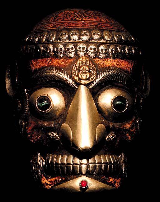 Tibetan Ritual Mask