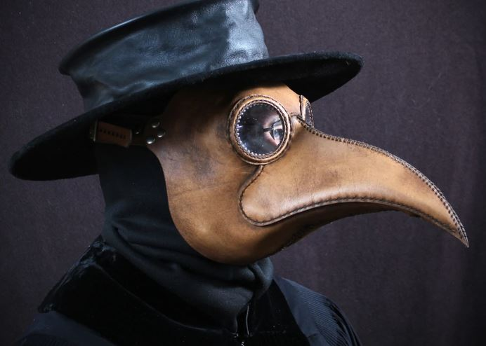Plague Doctor Beak Mask