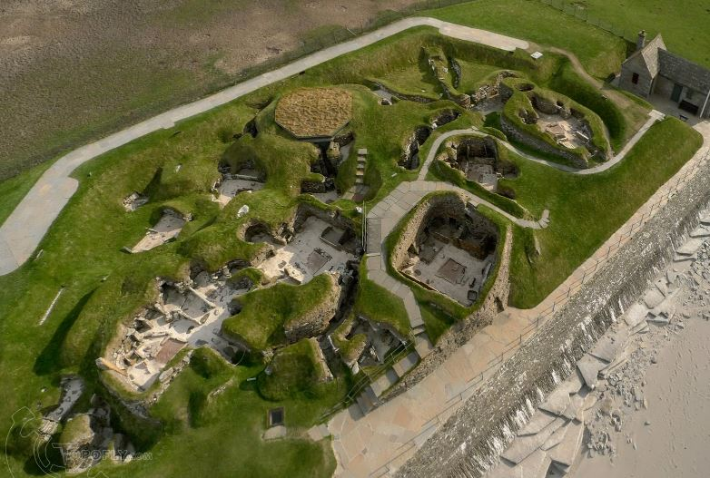 Skara Brae from above