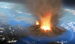 eruption of Yellowstone