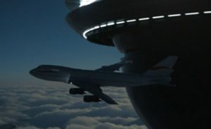 Flight 1628 Encountered Giant UFO