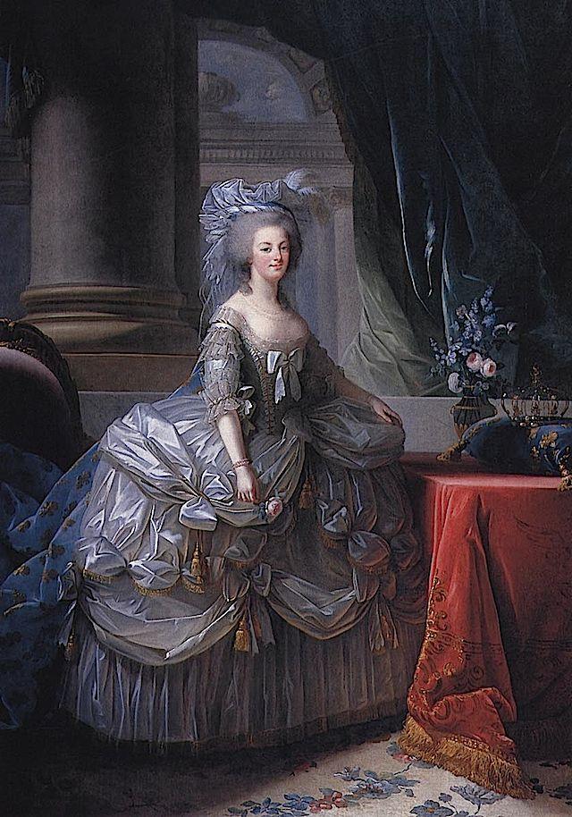 1779 Marie Antoinette by Elisabeth-Louise Vigee-Lebrun