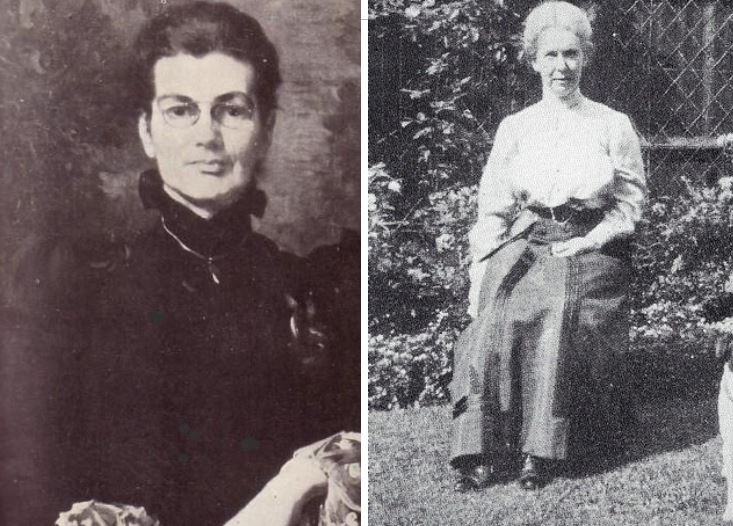 Charlotte Anne Moberly (Left) And Eleanor Jourdain